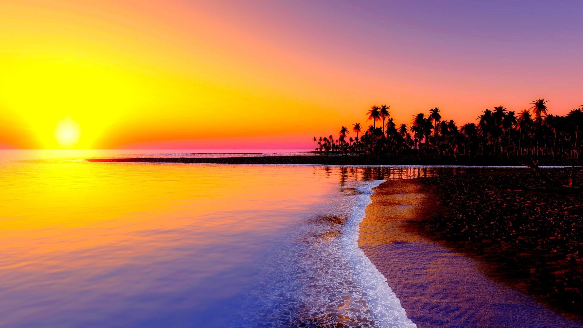 Красивые картинки пляжа для рабочего стола - подборка 10