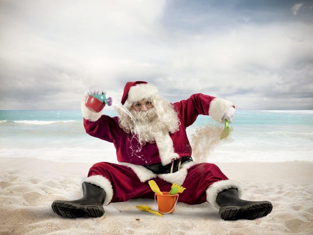 Картинки веселых и смешных Дедов Морозов 16