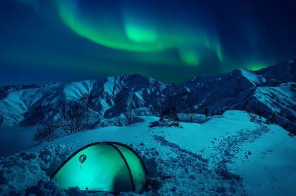 Снежные горы - удивительные картинки и фотографии 14