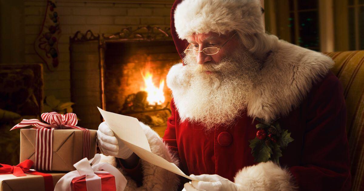 Картинки веселых и смешных Дедов Морозов 18