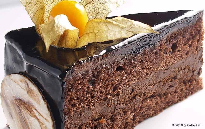 Самый вкусный шоколадный торт - подборка фото 27