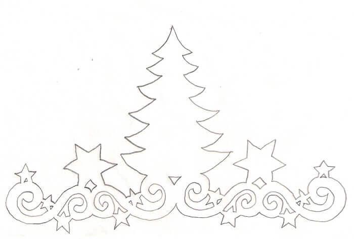 Красивые картинки на окна из бумаги к новому году - подборка 16