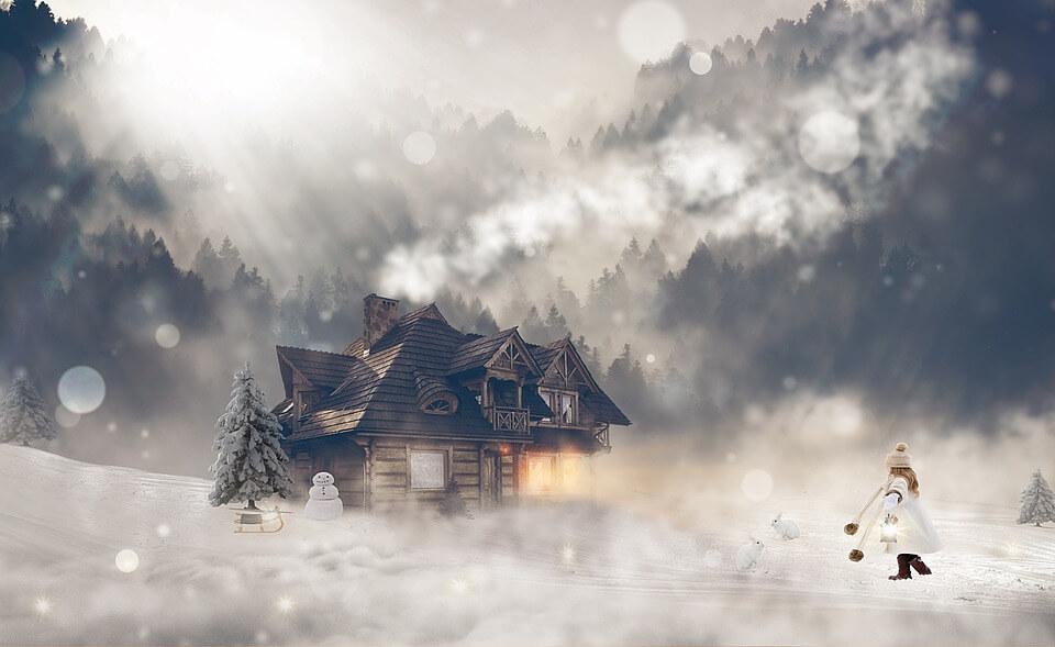 Красивые и невероятные картинки Зимний лес - подборка 10