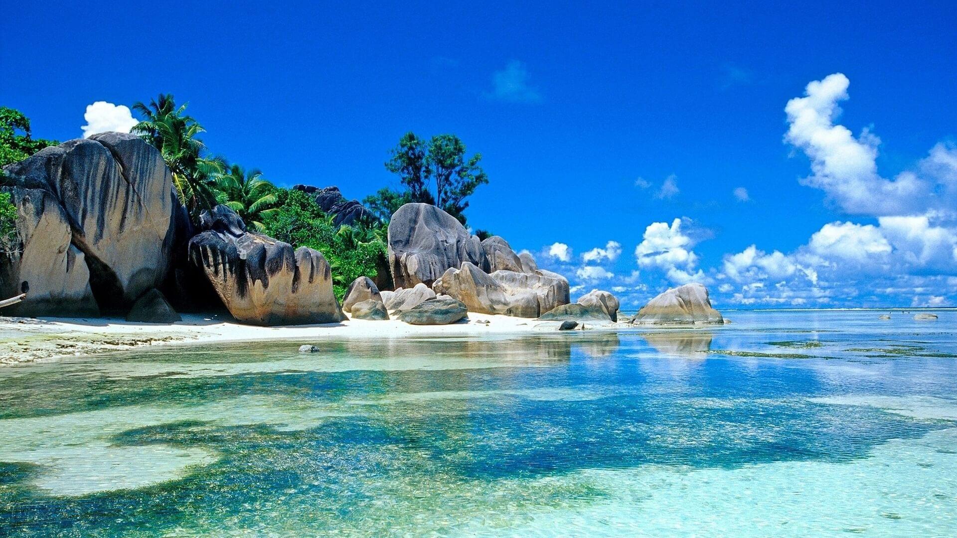 Красивые картинки пляжа для рабочего стола - подборка 15