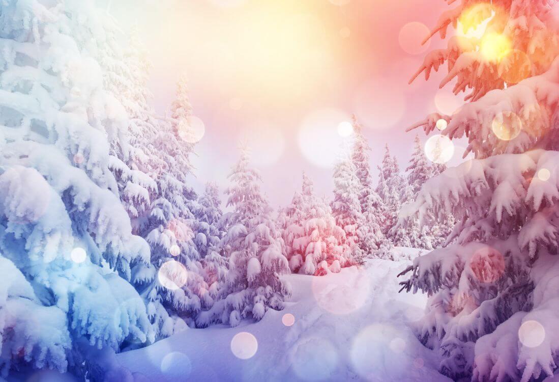 Скачать обои зимних картинок на телефон для заставки 16