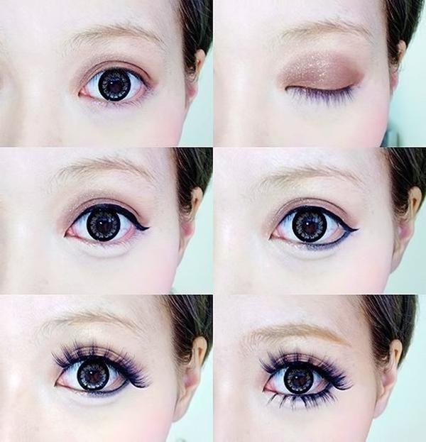 Как визуально сделать глаза больше и выразительнее 2