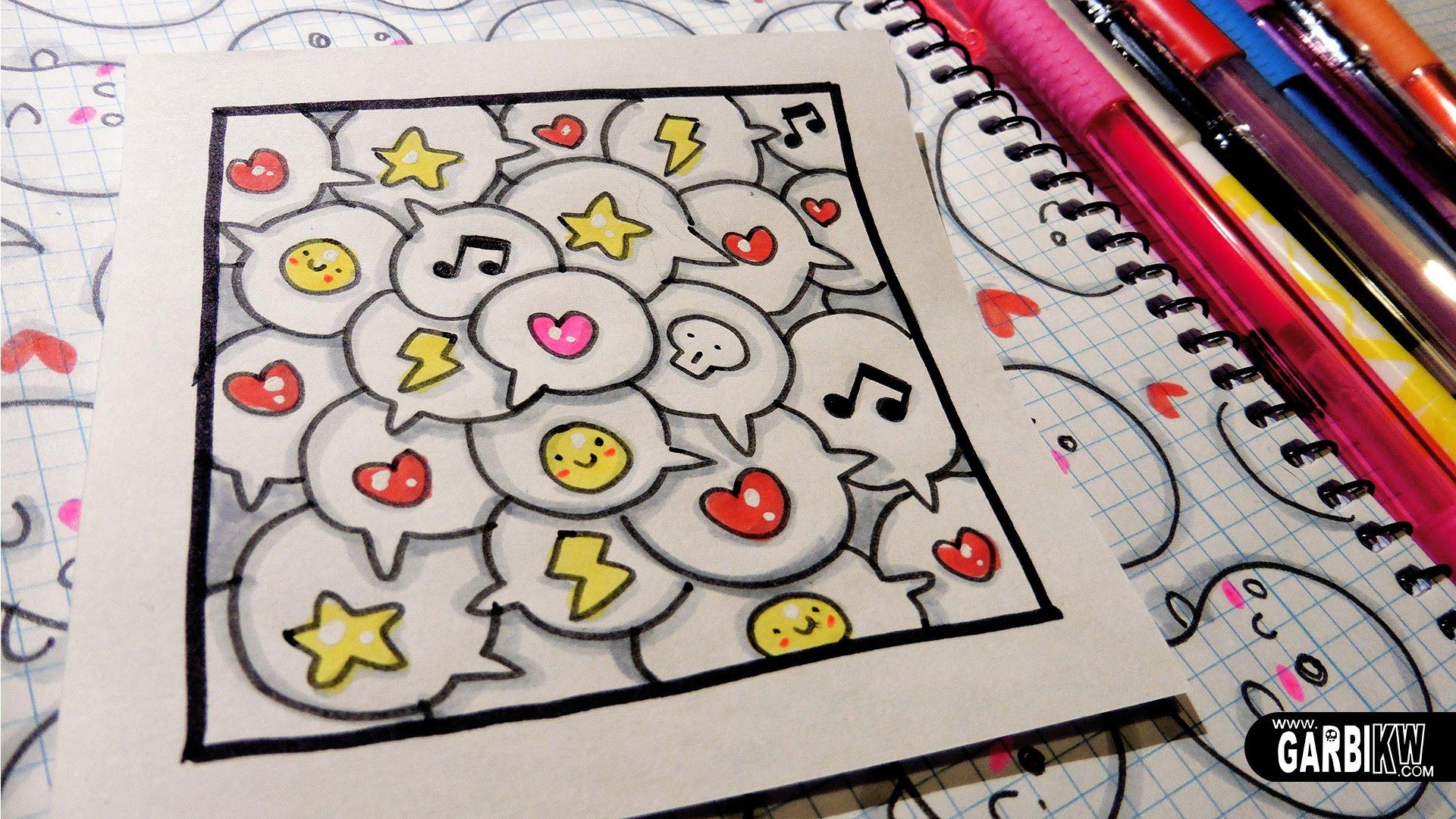 Красивые идеи и картинки для срисовки в личный дневник - сборка (21 фото) 21