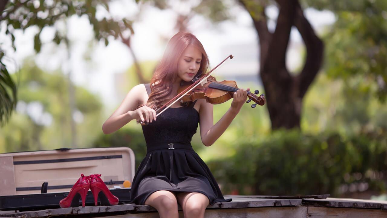 Прикольные картинки девушка и музыка, лучшие обои, фото (26 штук) 2