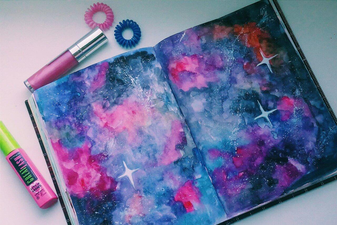 Красивые идеи и картинки для срисовки в личный дневник - сборка (21 фото) 4