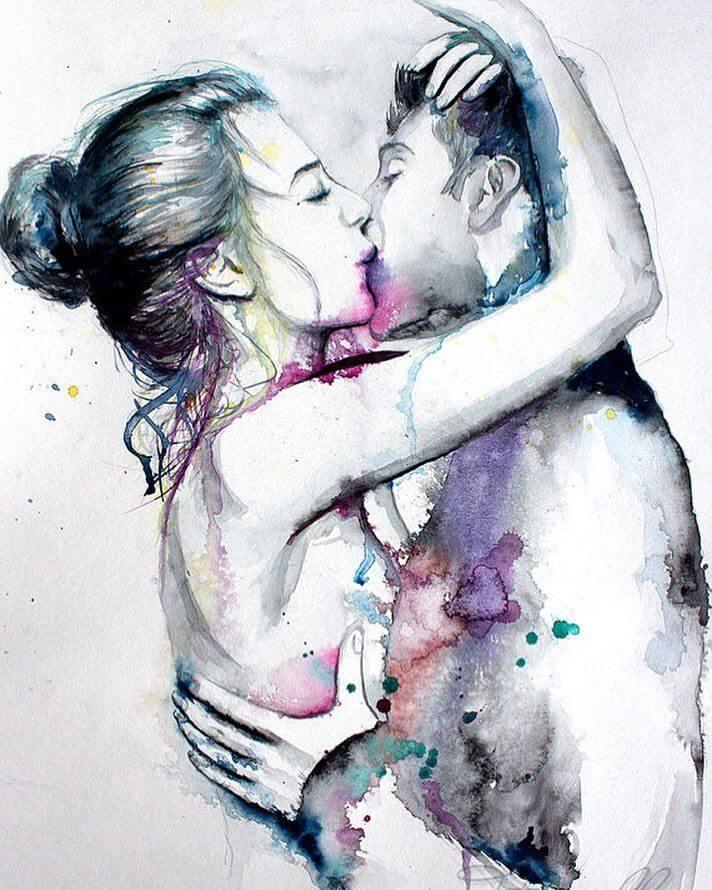 Арт картинки про любовь и отношения - подборка (27 фото) 12