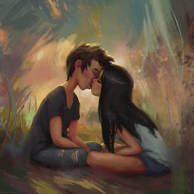 Арт картинки про любовь и отношения - подборка (27 фото) 1