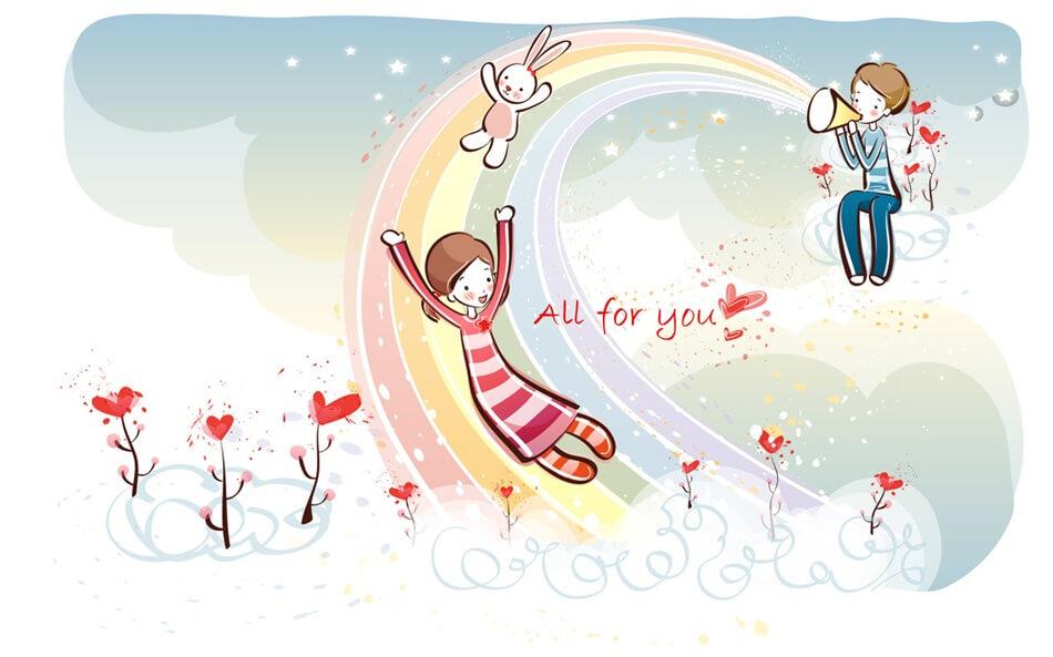Милые и романтические картинки для любимой - скачать (20 фото) 4