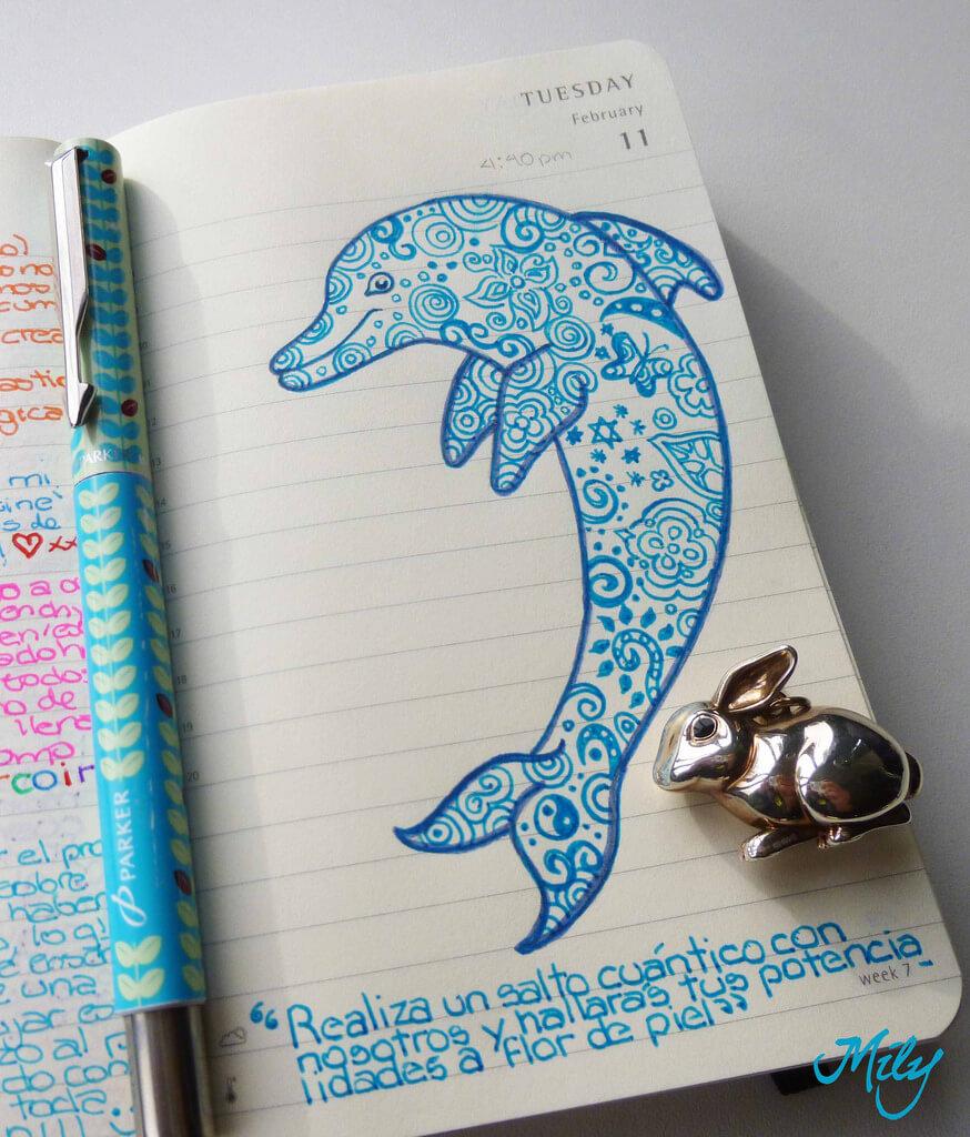 Красивые идеи и картинки для срисовки в личный дневник - сборка (21 фото) 10