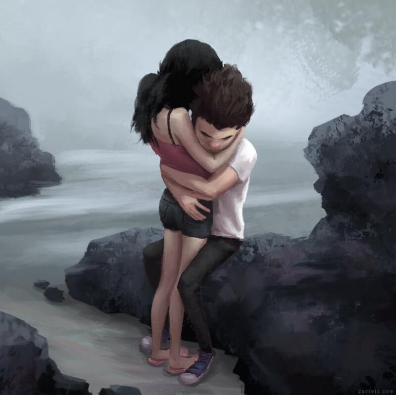 Арт картинки про любовь и отношения - подборка (27 фото) 4