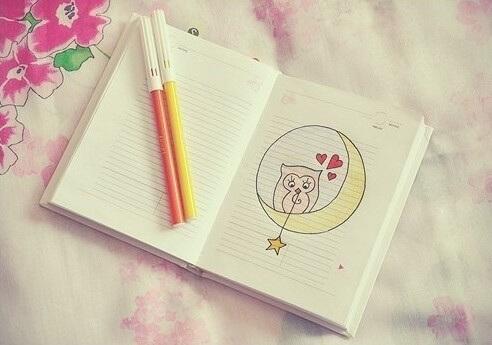 Красивые идеи и картинки для срисовки в личный дневник - сборка (21 фото) 9