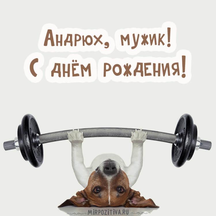 """Красивые картинки """"С Днем Рождения Андрей"""" - открытки 7"""