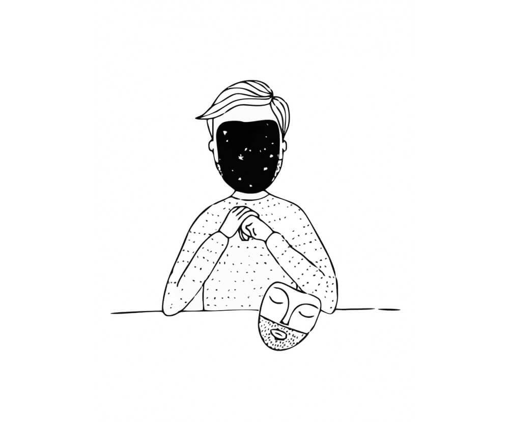 Скачать бесплатно черно-белые картинки для срисовки - сборка (27 штук) 7
