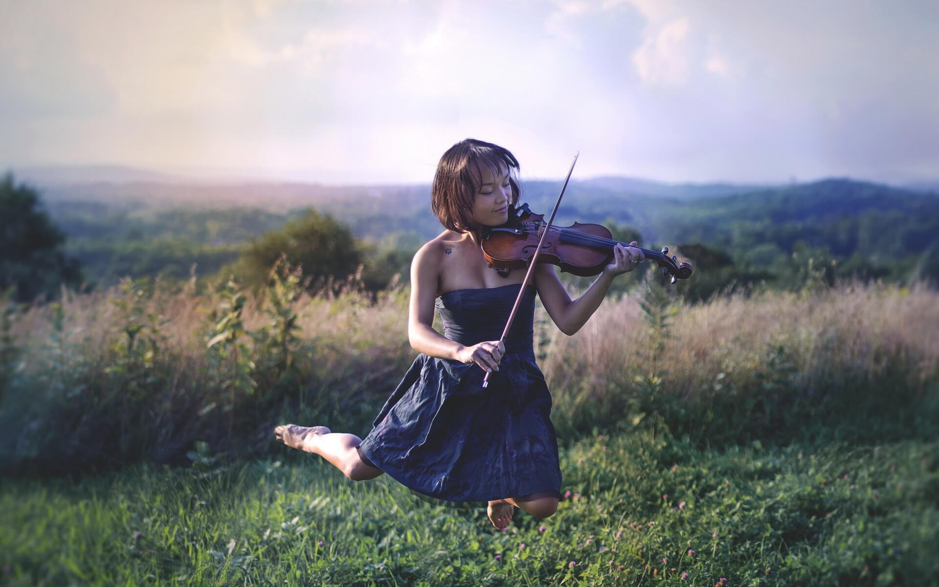 Прикольные картинки девушка и музыка, лучшие обои, фото (26 штук) 1