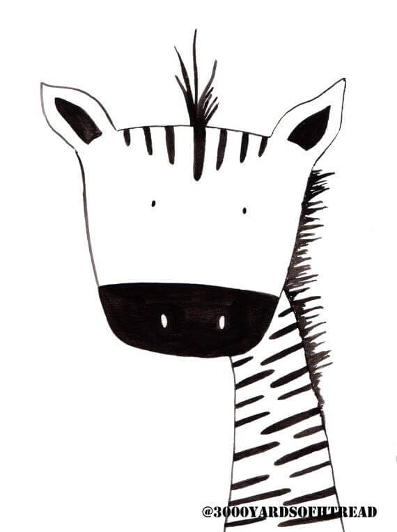 Скачать бесплатно черно-белые картинки для срисовки - сборка (27 штук) 3