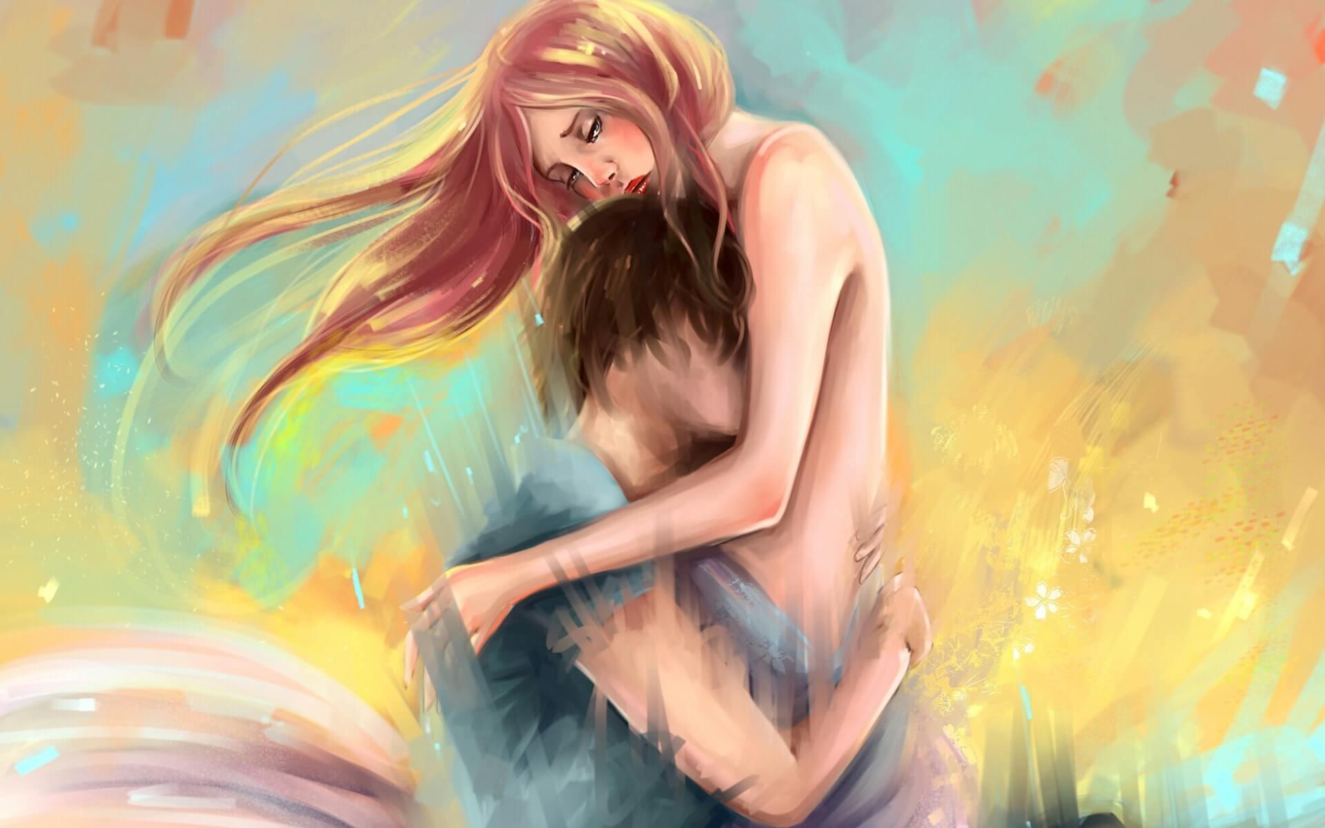 Арт картинки про любовь и отношения - подборка (27 фото) 13