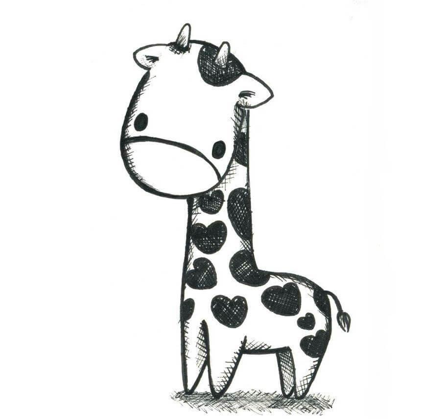 Скачать бесплатно черно-белые картинки для срисовки - сборка (27 штук) 13