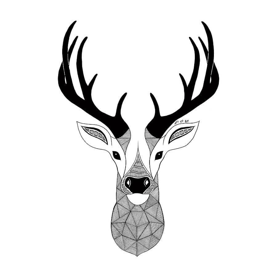 Скачать бесплатно черно-белые картинки для срисовки - сборка (27 штук) 14