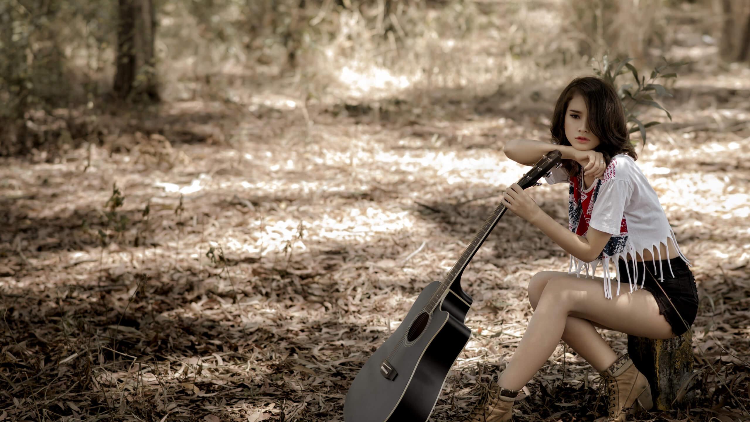 Прикольные картинки девушка и музыка, лучшие обои, фото (26 штук) 8