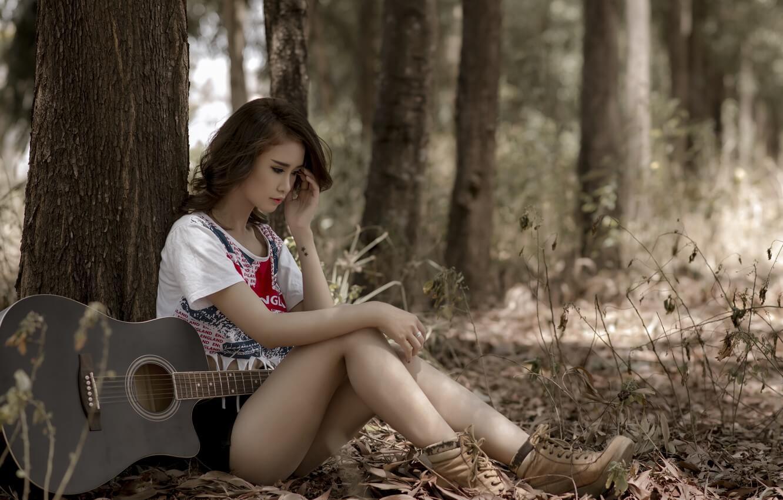Прикольные картинки девушка и музыка, лучшие обои, фото (26 штук) 7