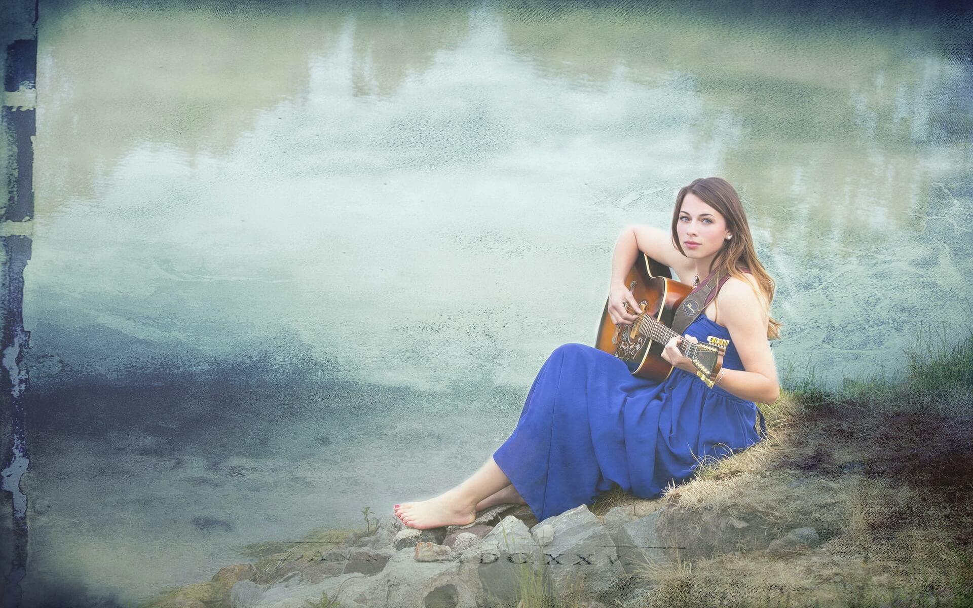 Прикольные картинки девушка и музыка, лучшие обои, фото (26 штук) 11
