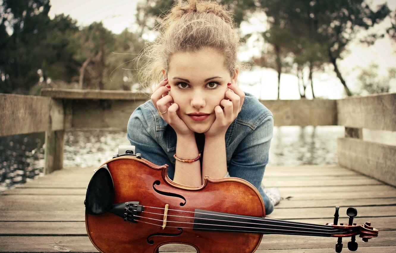 Прикольные картинки девушка и музыка, лучшие обои, фото (26 штук) 13