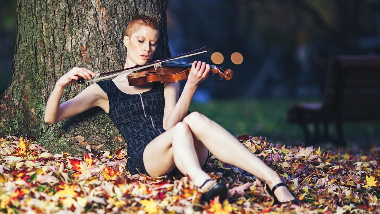 Прикольные картинки девушка и музыка, лучшие обои, фото (26 штук) 14