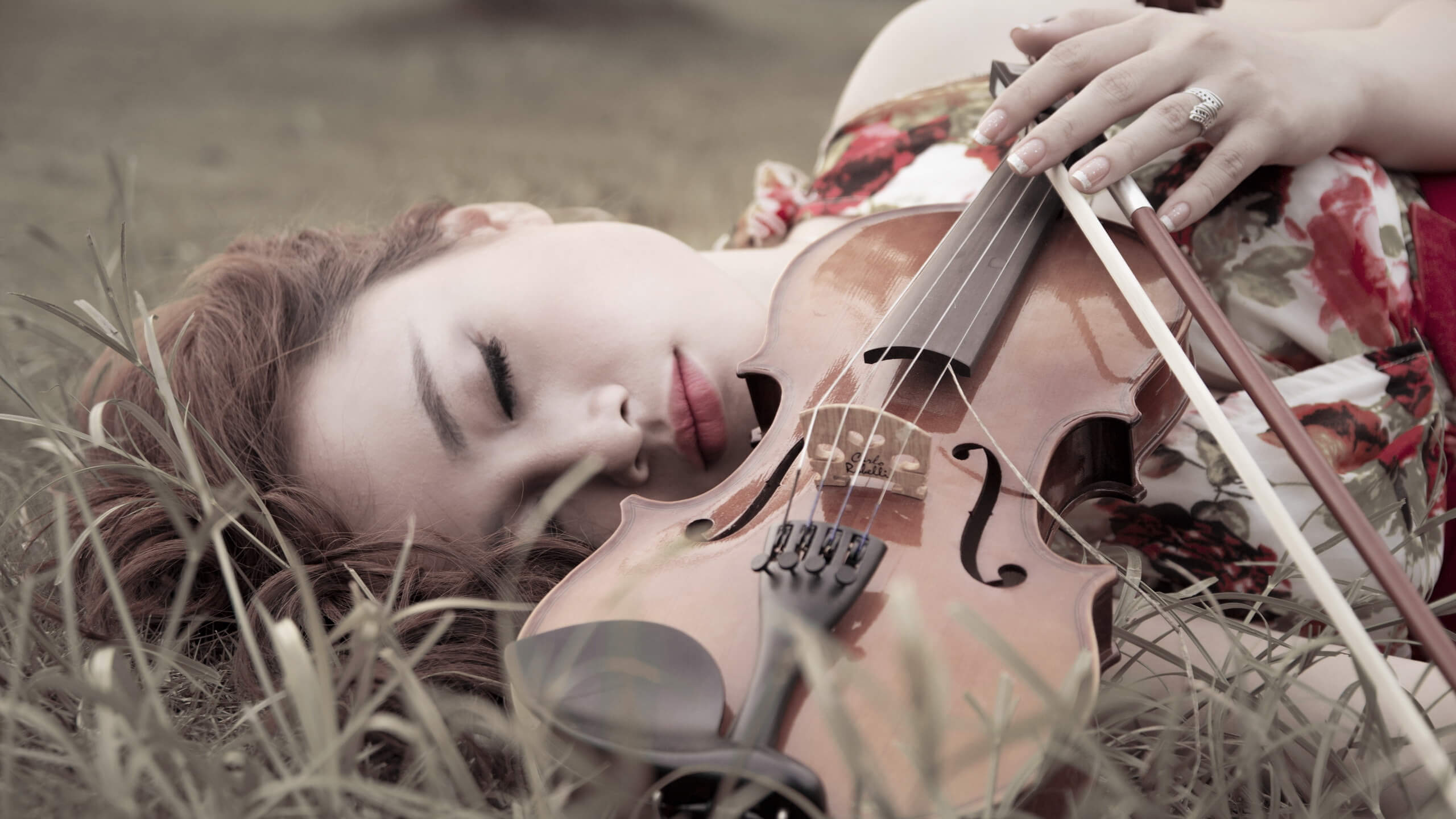 Прикольные картинки девушка и музыка, лучшие обои, фото (26 штук) 15