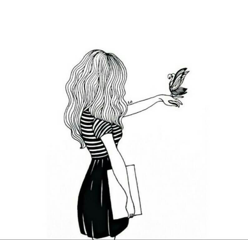 Скачать бесплатно черно-белые картинки для срисовки - сборка (27 штук) 15