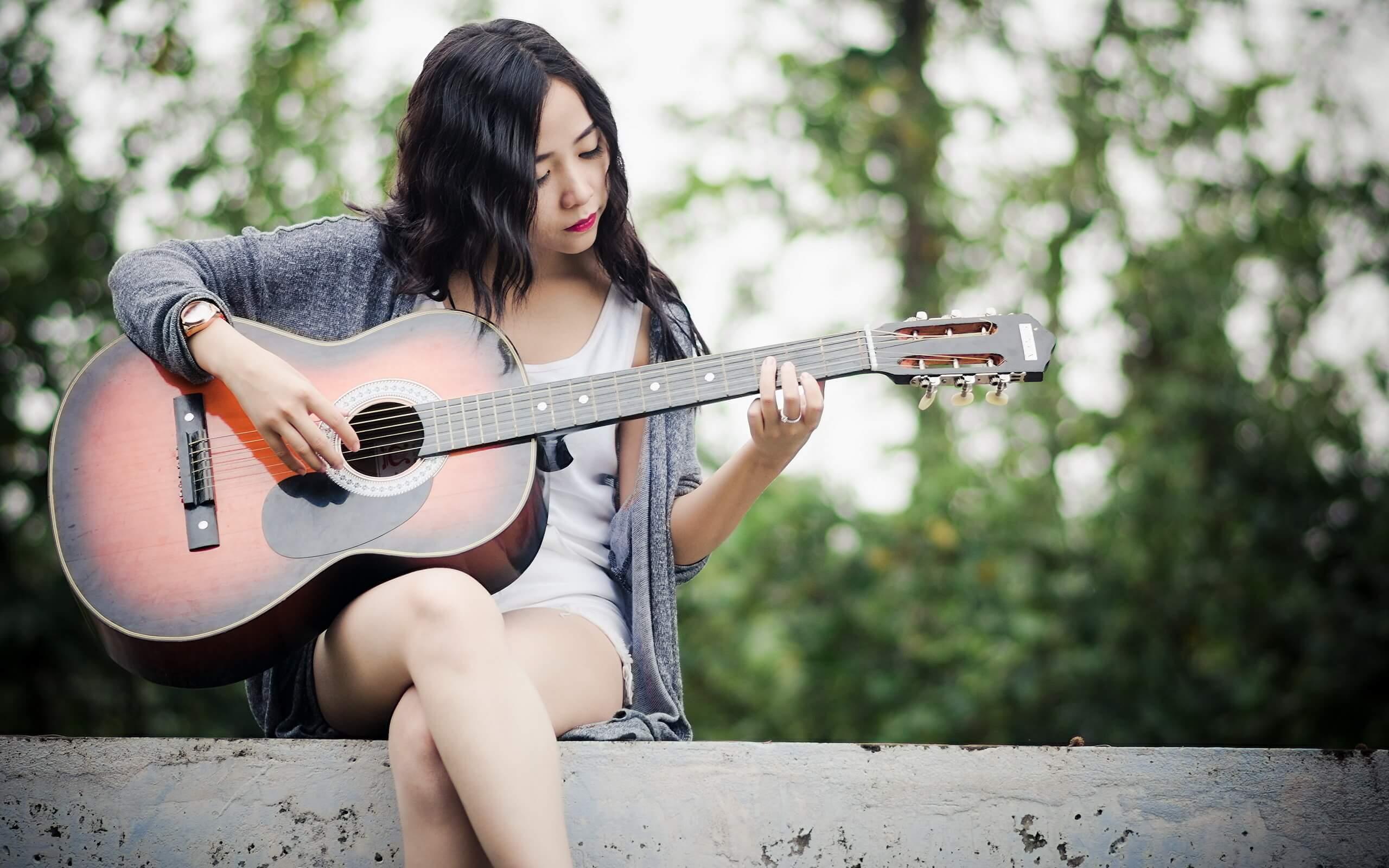 Прикольные картинки девушка и музыка, лучшие обои, фото (26 штук) 21
