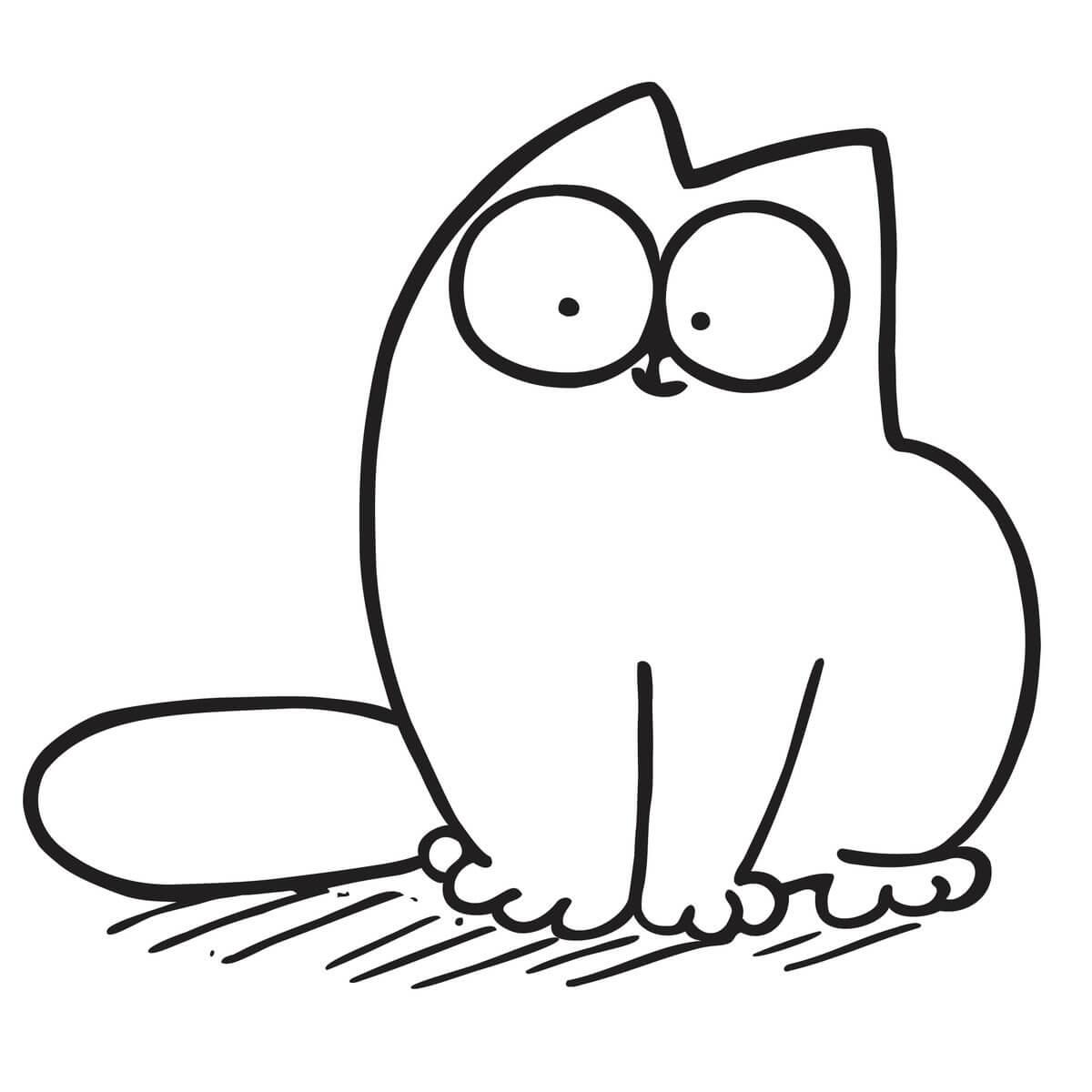 Скачать бесплатно черно-белые картинки для срисовки - сборка (27 штук) 22