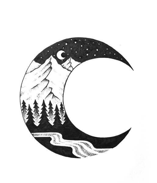 Скачать бесплатно черно-белые картинки для срисовки - сборка (27 штук) 23