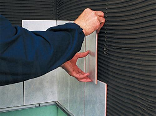 Укладка керамической плитки на стену - основные рекомендации 2