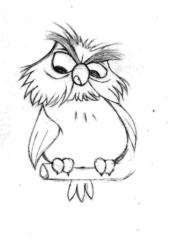 Картинки для срисовки прикольные простые животные легкие, счастья вашему дому