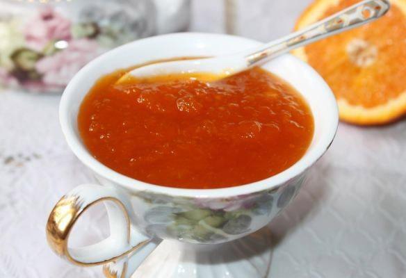 Домашний тыквенно-апельсиновый джем с пряностями - рецепт 1