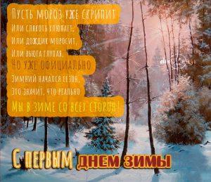 """""""С первым днем зимы"""" - красивые и прикольные картинки 3"""
