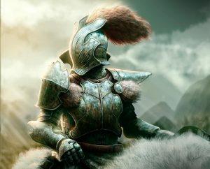 Красивые картинки и арты воина, воителя, рыцаря - подборка 4