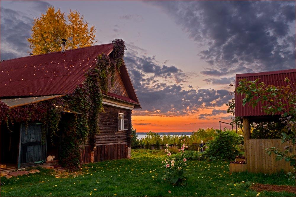 Днем, красивые картинки с деревеньками