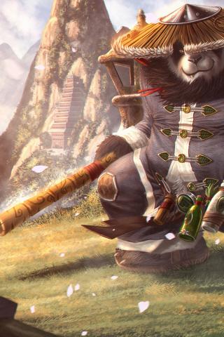 Самые крутые картинки из World of Warcraft на заставку телефона - подборка 15