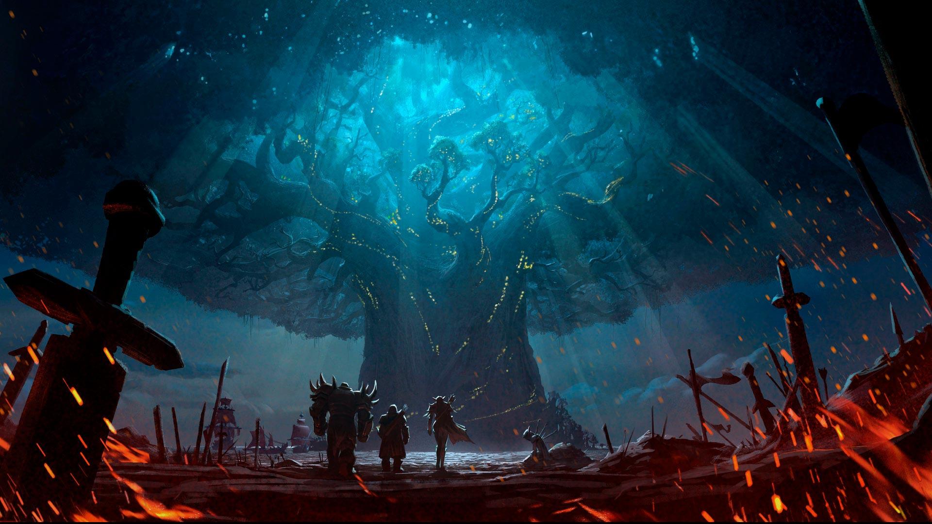 World of Warcraft красивые и крутые обои для рабочего стола 15