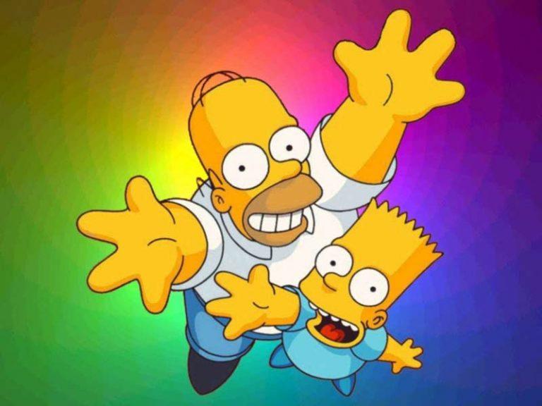 Картинка симпсоны прикольные, красивые
