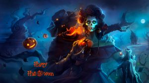 Прикольные картинки, арты про Хеллоуин - красивая подборка 15