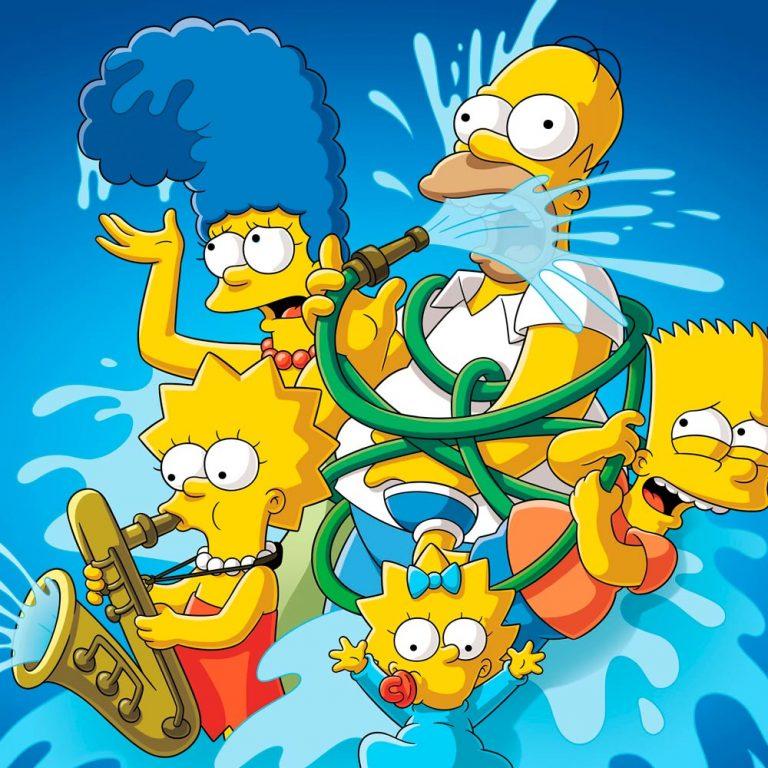 Веселые картинки симпсонов, доте