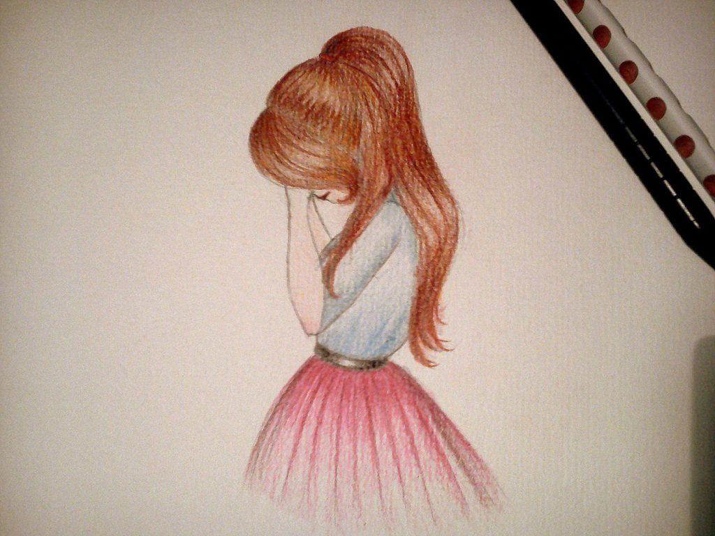 Прикольные рисунки для срисовки для девочек 13 лет