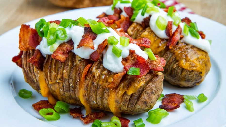 Картофель в беконном мундире или как удивить гостей 1