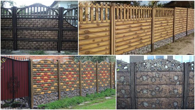 Строительство бетонного забора на участке - способы и рекомендации 3
